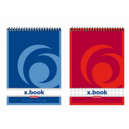 Bloc notes spira A7 50 file Herlitz X.Book - dictando
