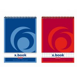 Bloc notes spira A7 50 file Herlitz X.Book - matematica