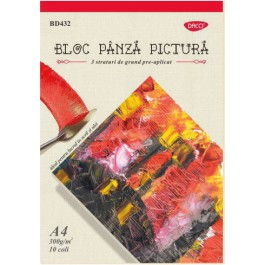 Bloc panza pictura 300g/mp Daco A4