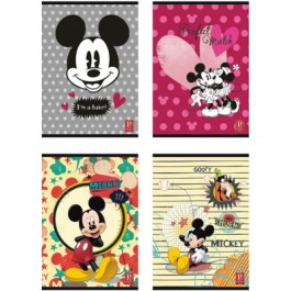 caiet a4 60f mickey mouse matematica