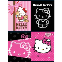 caiet a4 80 file hello kitty dictando