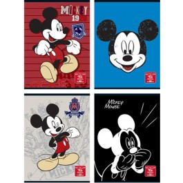 caiet premium a4 80 file mickey mouse matematica