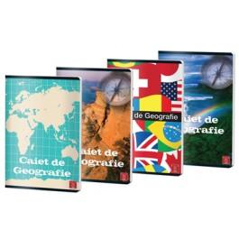 Caiet geografie Pigna A4, 24 file