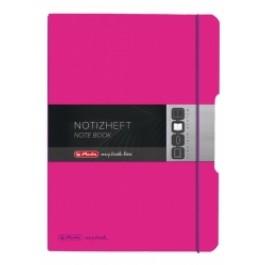 Caiet My.Book Flex Herlitz A4 40f roz inchis