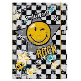 Caiet My.Book Flex Herlitz A4 2x40f dictando+matematica Smiley Rock
