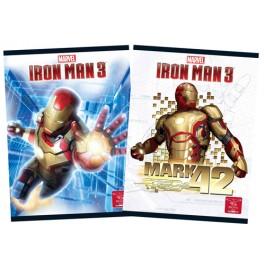 caiet premium a5 48 file pigna iron man