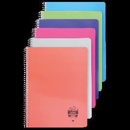 Caiet spira A4 120 file coperta carton matematica