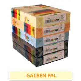 carton galben pal
