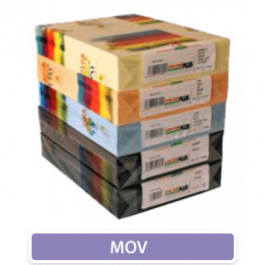 Carton colorat A4 160g - mov