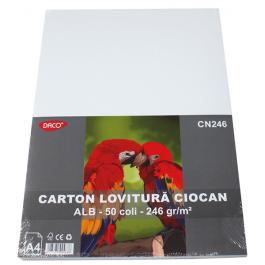 Carton lovitura de ciocan A4 246g 50 coli