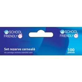 Cartuse cerneala School Friendly 100 buc