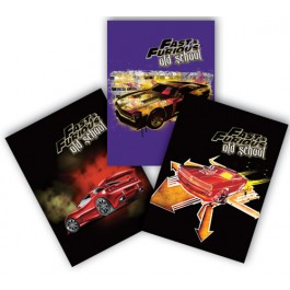 Coperta color caiet A5 Fast and Furious