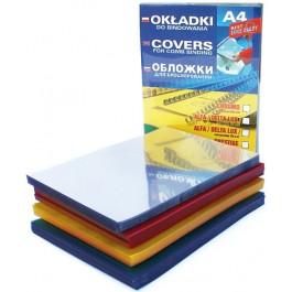 coperta plastic maro transparent a4
