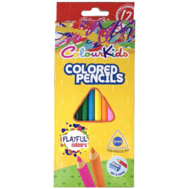 Creioane colorate Colour Kids 12 culori