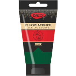 Culori acrilice Daco 75 ml - Verde Ftalocianin