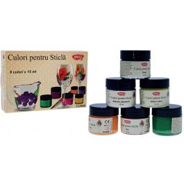 Culori pentru sticla Daco