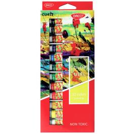 Culori ulei Daco 12 culori 12ml
