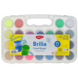 Culori guasa borcan Brilia Daco 25 culori