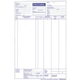 Facturier A4 3 exemplare autocopiativ