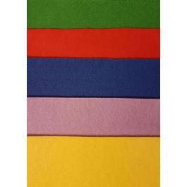 Fetru asortat Daco 5 culori