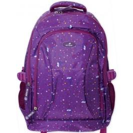 Ghiozdan scolar Ecada 61171 Purple Stars