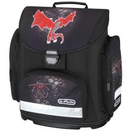 Ghiozdan ergonomic Herlitz Midi Red Dragon