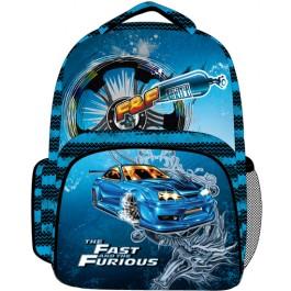 Ghiozdan Fast & Furious Blue
