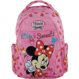 Ghiozdan Minnie Mouse Chic & Sweet