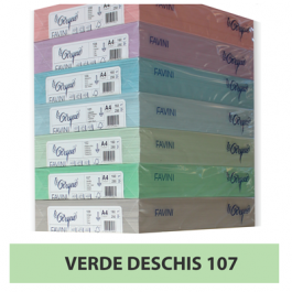 Hartie colorata A4 80g Favini 107 - verde deschis