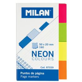 Index autoadeziv hartie Milan 50x20mm