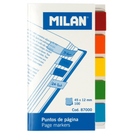 Index autoadeziv Milan 45x12mm
