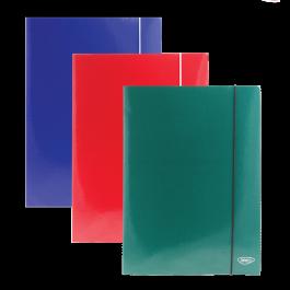 Mapa carton cu elastic A4 Daco - diferite culori