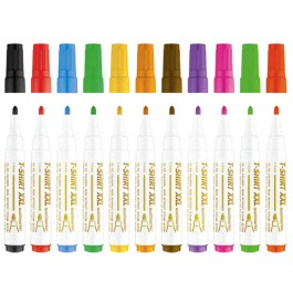 Marker textile Ico - diferite culori