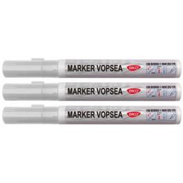 marker vopsea alba daco