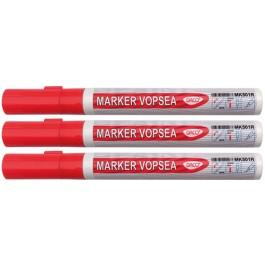 marker vopsea rosie daco