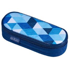 Penar borseta Herlitz Blue Cubes