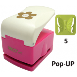Perforator cu model complex 3.2 cm - Fluture (5) Pop-Up