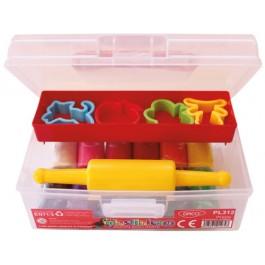Plastilina in cutie 12 culori Plastinica Daco