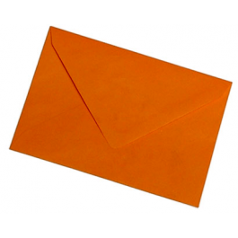 Plic colorat C5 80g/mp portocaliu 25buc/set