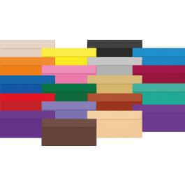 Plic colorat DL 120g - azur sidefat