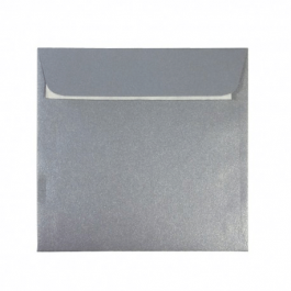 Plic argintiu patrat 14x14