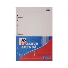 Rezerva agenda organizer A5 100 file Nebo