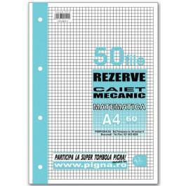 Rezerva caiet mecanic A4 50 file - matematica