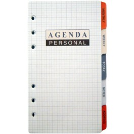 rezerva agenda organizer 92x175mm