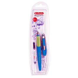 Stilou Herlitz My.Pen Albastru-Verde + rezerva
