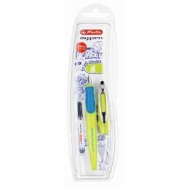 Stilou stangaci Herlitz My.Pen Lemon-Albastru