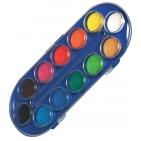 Acuarele pastile Herlitz Locomotif 12 culori