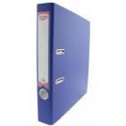 Biblioraft plastifiat ingust 5 cm Daco Albastru
