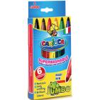 Carioci groase Carioca Jumbo 6 culori