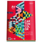 Carton colorat asortat A4 160g 5 culori 30coli